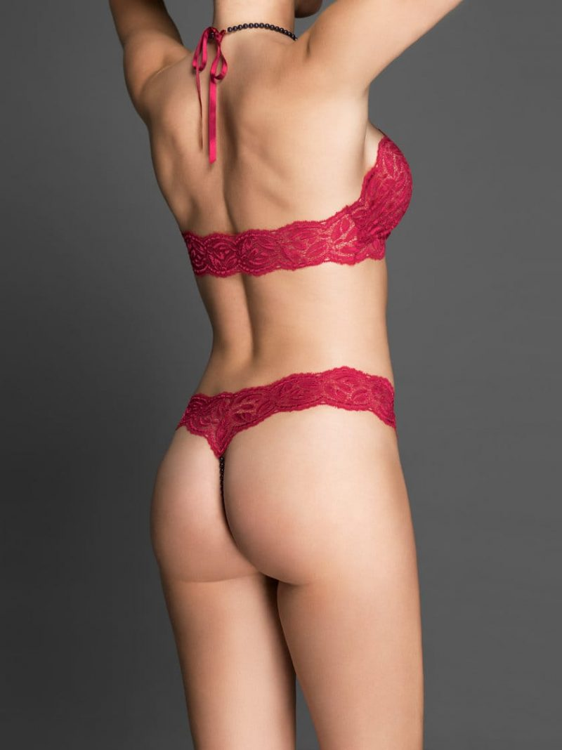 bracli-ebony-halter-top-red-model-rear-view